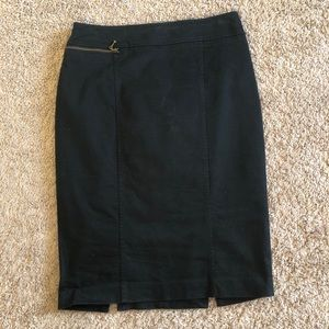 Black Mossimo Pencil Skirt